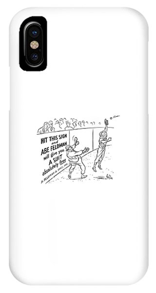 New Yorker October 8th, 1938 IPhone Case
