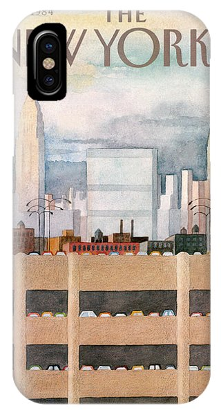 New Yorker October 8th, 1984 IPhone Case