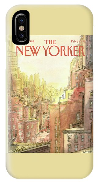 New Yorker September 12th, 1988 IPhone Case