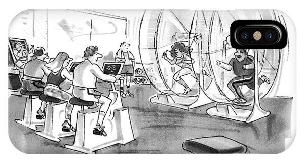 Hamster iPhone Case - New Yorker September 12th, 1994 by Bernard Schoenbaum