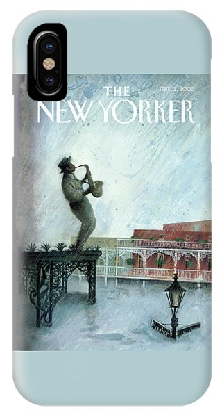 New Yorker September 12th, 2005 IPhone Case