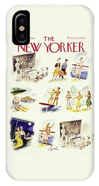 New Yorker September 14 1940 IPhone Case
