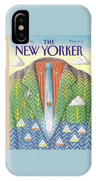 New Yorker September 16th, 1991 IPhone Case