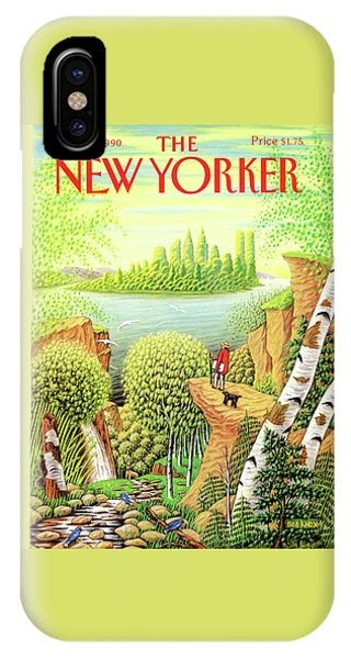 Green New York IPhone Case