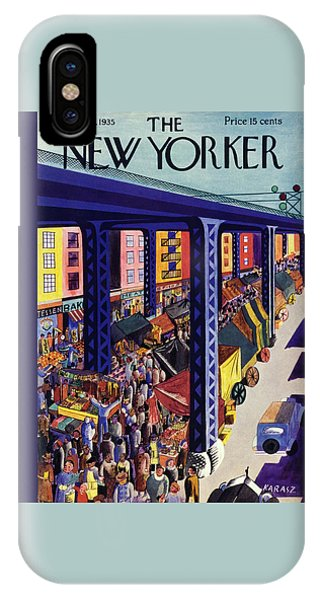 Representation iPhone Case - New Yorker September 21 1935 by Ilonka Karasz