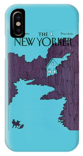 Yard iPhone Case - New Yorker September 21st, 1981 by Arthur Getz