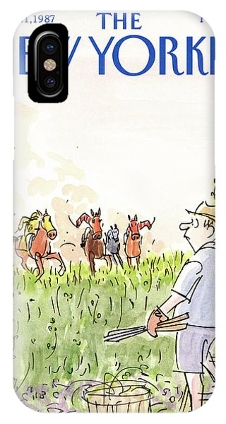 New Yorker September 21st, 1987 IPhone Case