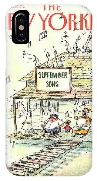 New Yorker September 23rd, 1991 IPhone Case