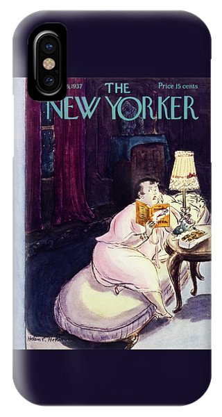 Representation iPhone Case - New Yorker September 25 1937 by Helene E. Hokinson