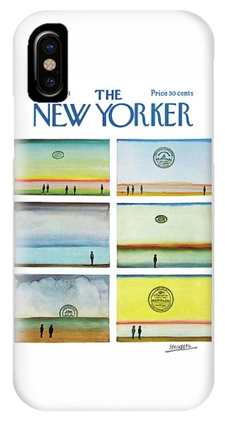 New Yorker September 25th, 1971 IPhone Case