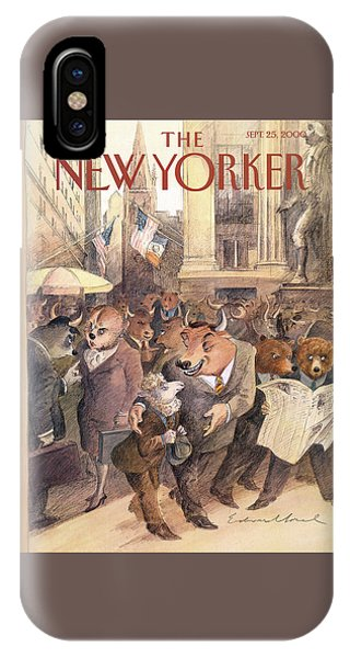 New Yorker September 25th, 2000 IPhone Case
