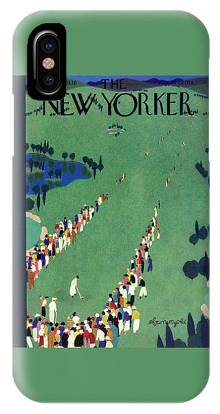 New Yorker September 5 1936 IPhone Case