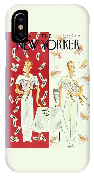 Representation iPhone Case - New Yorker September 7 1935 by Constantin Alajalov