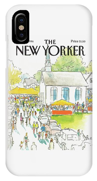 New Yorker September 8th, 1986 IPhone Case