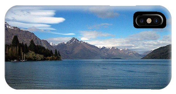New Zealand Fjord IPhone Case