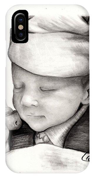 Newborn Baby Phone Case by Rosalinda Markle