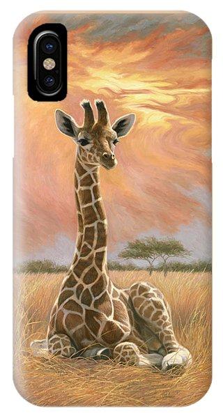 Newborn Giraffe IPhone Case