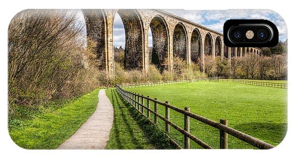 Landscape iPhone Case - Newbridge Viaduct by Adrian Evans
