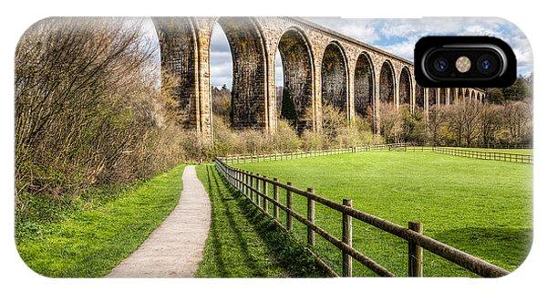 Path iPhone Case - Newbridge Viaduct by Adrian Evans