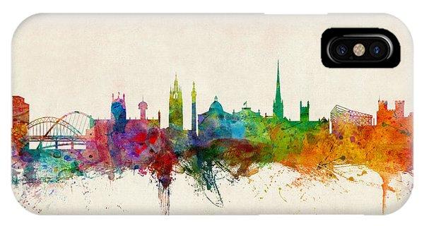Newcastle England Skyline IPhone Case