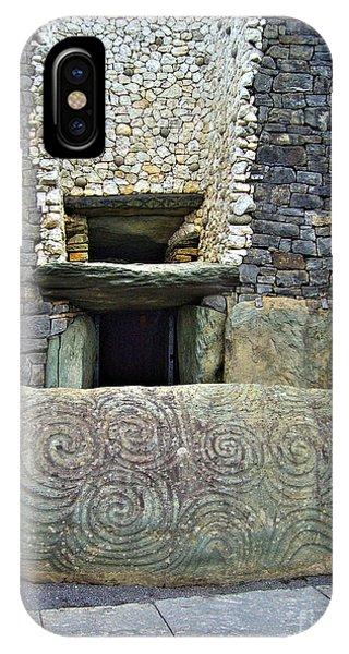 Newgrange Entrance IPhone Case
