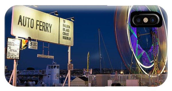 Newport Beach Auto Ferry Phone Case by Eddie Yerkish