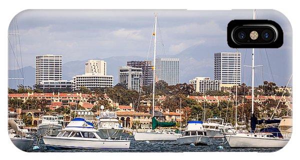 Newport Beach Skyline  IPhone Case