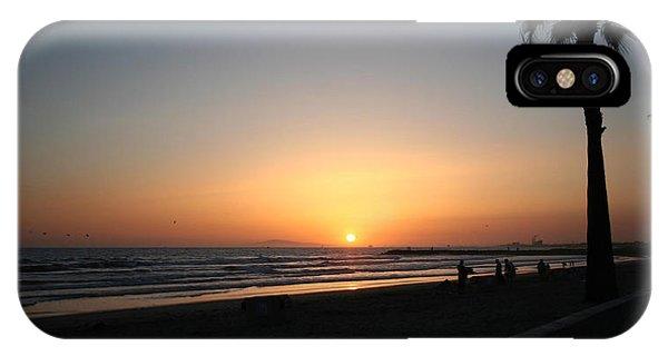 Newport Beach Sunset IPhone Case