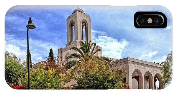 Newport Beach Temple IPhone Case