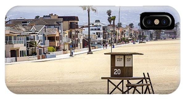 Newport Beach Waterfront Luxury Homes IPhone Case