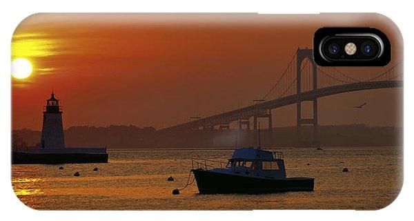 Newport Sunset IPhone Case