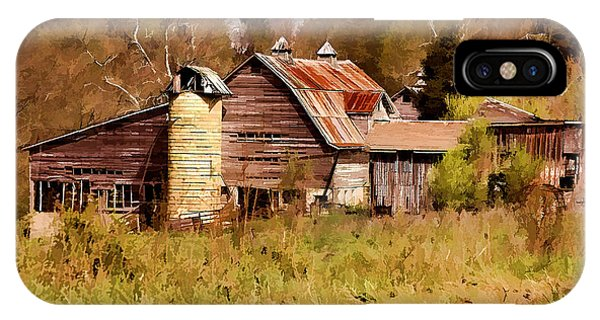 Newton Township Barn IPhone Case