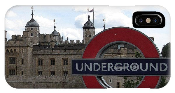 Next Stop Tower Of London IPhone Case