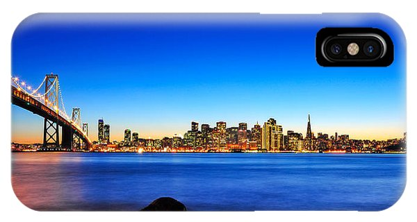Next To The Bay Bridge And San Francisco Skyline IPhone Case