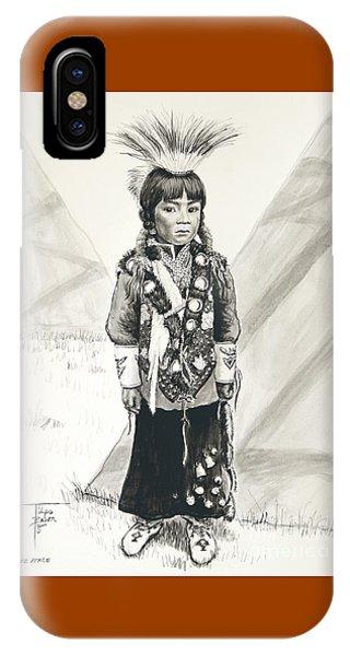 Nez Perce Prince IPhone Case