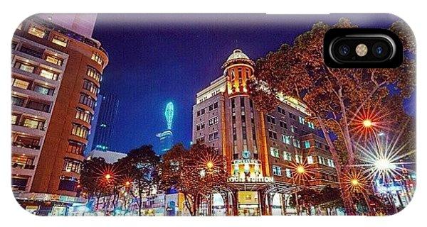 Sunny iPhone Case - Đồng Khởi Corner Le Loi Avenue, Ho by Sunny Merindo