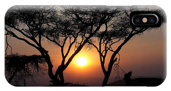 Ngorongoro Sunset II IPhone Case