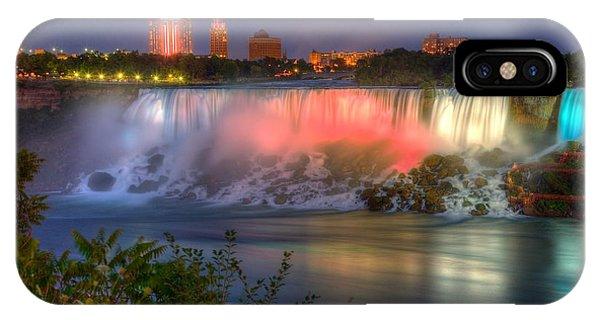 Niagara Falls Canada Sunset  IPhone Case