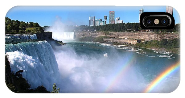 Niagara Falls Double Rainbow IPhone Case