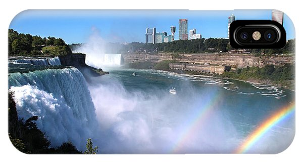 Niagara Falls Double Rainbow IPhone Case