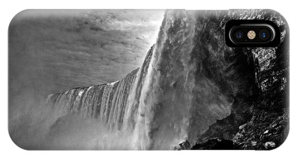 Niagara Falls From The Side IPhone Case