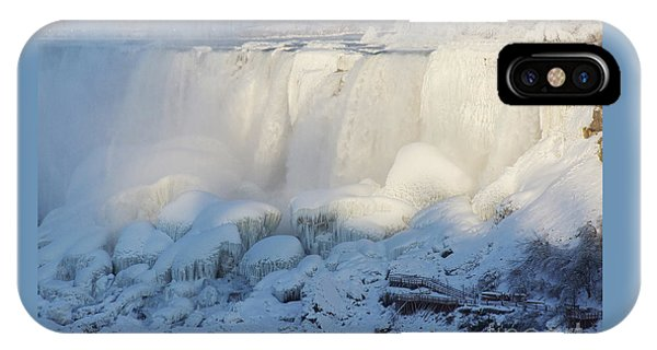 Niagara Falls In Winter IPhone Case