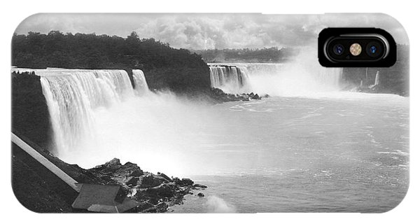 Bridal iPhone Case - Niagara Falls Maid Of The Mist by Underwood Archives