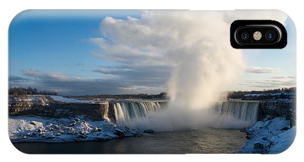 Niagara Falls Makes Its Own Weather IPhone Case