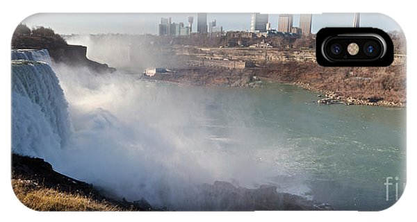 IPhone Case featuring the photograph Niagara Falls Panorama by William Norton