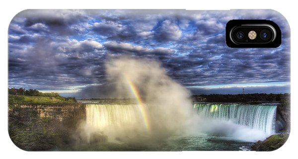 Niagara Falls Rainbow IPhone Case