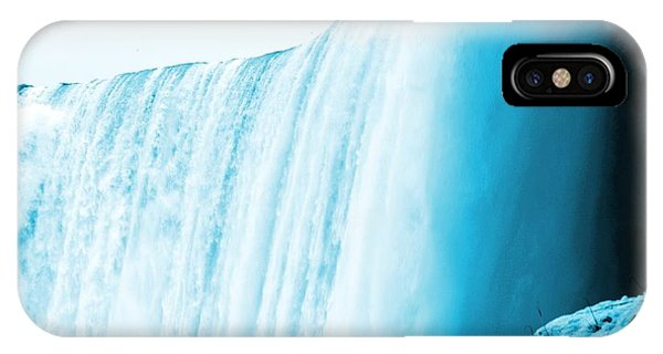 Niagara Falls ..so Blue Phone Case by Al Fritz