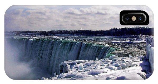 Niagara Falls Winter IPhone Case