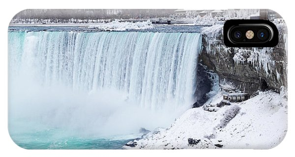 Niagara Falls Winter IPhone Case