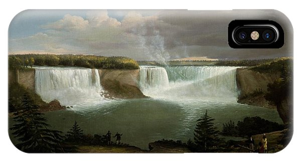 Niagra Falls By Alvan Fisher IPhone Case